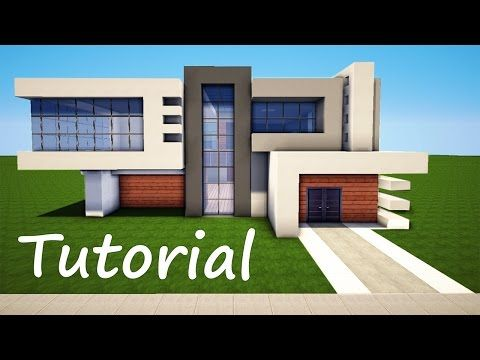Minecraft: How to Build a Modern House - Best Mansion 2016 Tutorial [ How to Make ] - YouTube