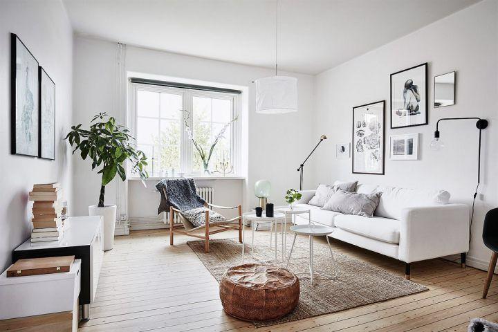 Chic And Stylish Scandinavian Living Room Designs Ideas
