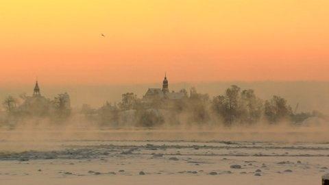 Early winter morning in Helsinki