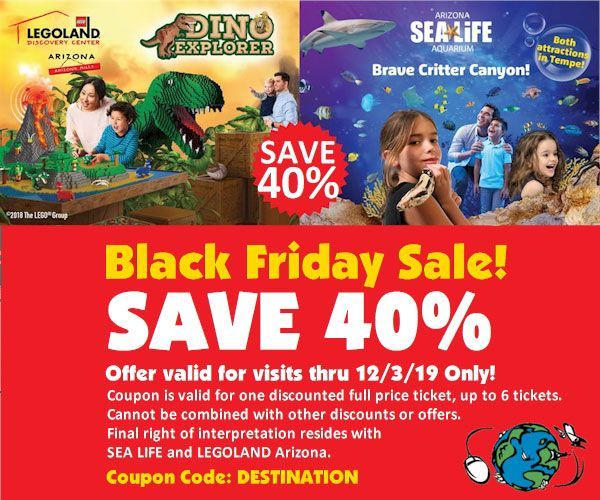 Save 40 Off Legoland Sealife Tempe Thru 12 3 Only Https Www
