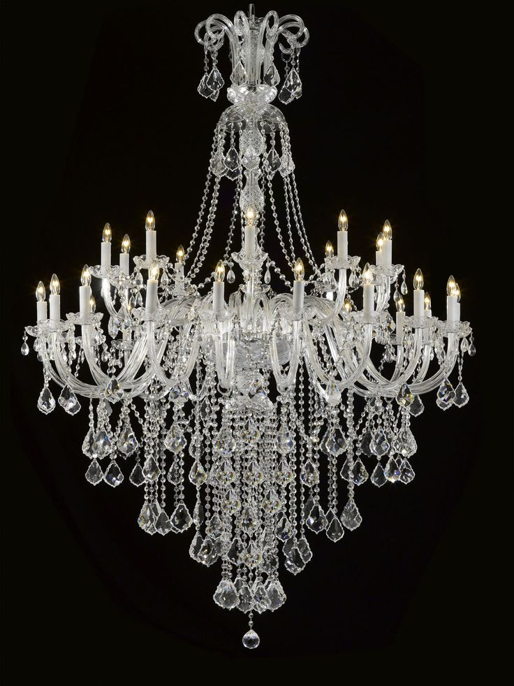25 Best Ideas About Crystal Chandeliers On Pinterest