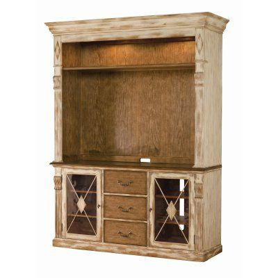 Hooker furniture sanctuary entertainment console with for Furniture 0 interest
