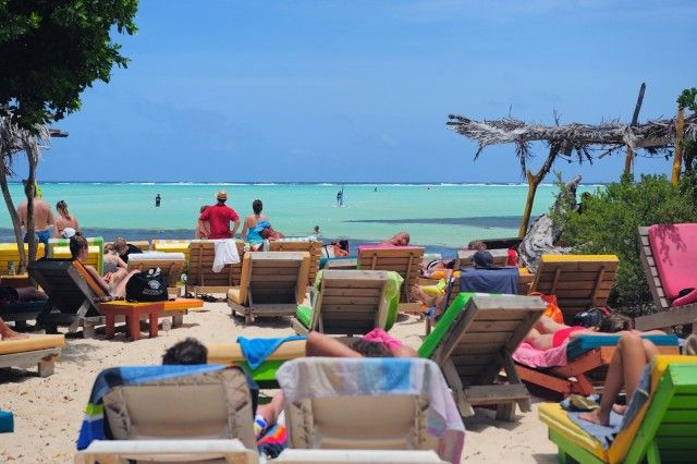 The Hang Out Beach Bar - Sorobon, Bonaire