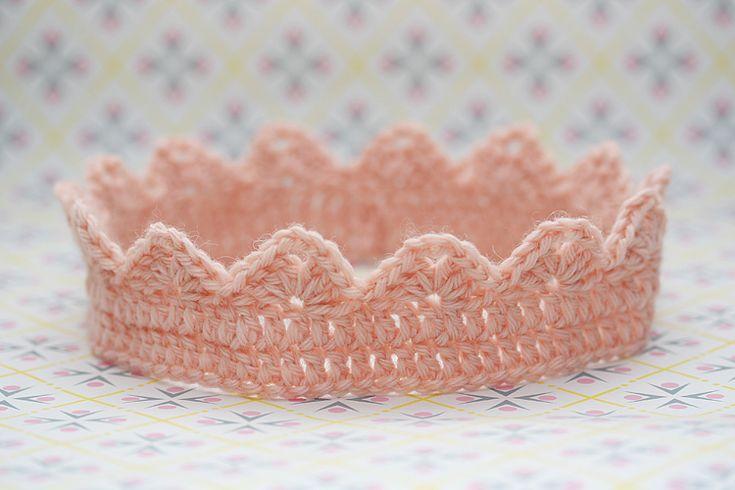 Princess crown #crochet #free #pattern Crochet and ...