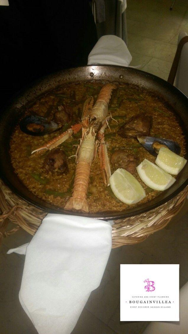 Fabulosa Sopa de Mariscos por www.bougainvilleabodas.com.mx Bodas San Miguel de Allende