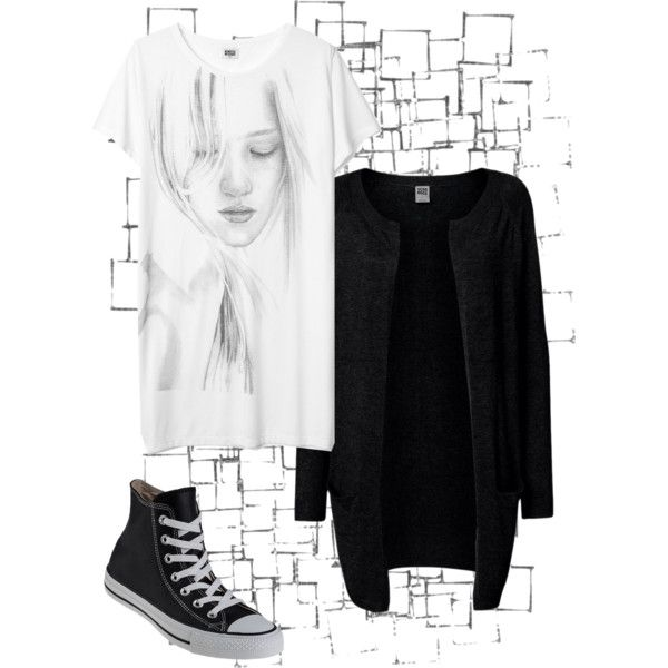 Untitled #16 by zuzulica on Polyvore featuring Vero Moda, Converse and Arteriors