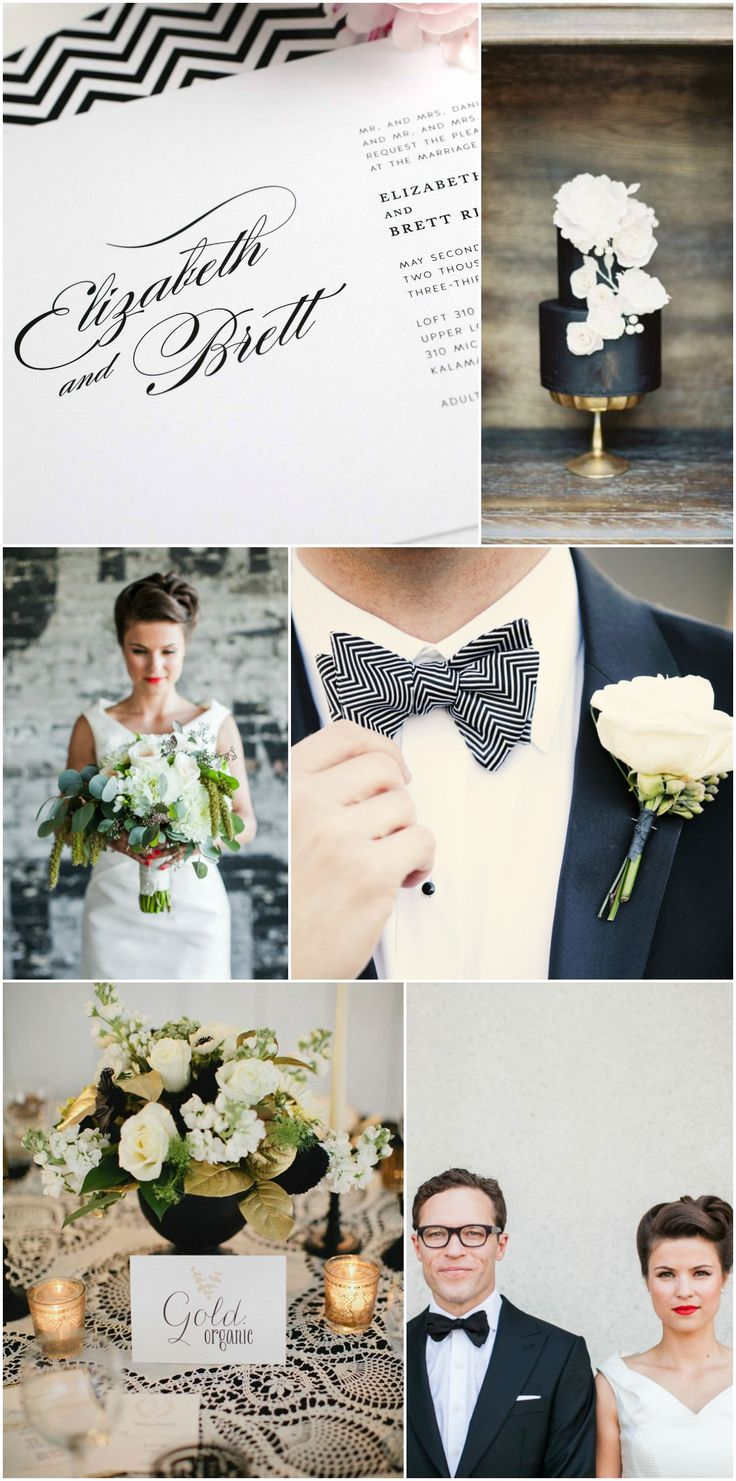 152 Best Black And White Wedding Ideas Images On Pinterest