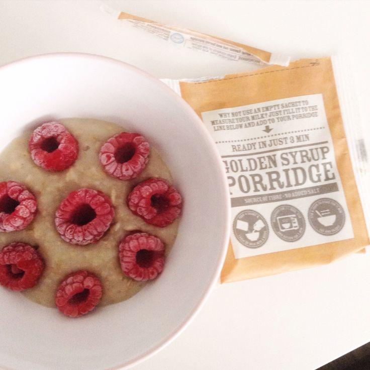 Good morning ! Golden Syrup porridge ❤️