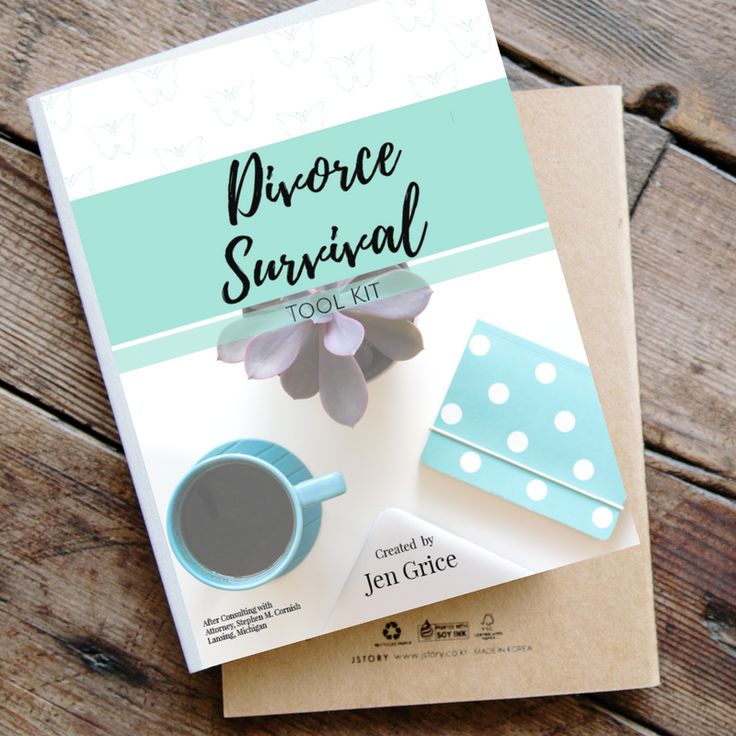 Divorce Letter Template Free%0A Be organized  feel confident and be prepared with this Divorce Survival  Digital Tool Kit