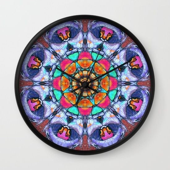Buy Graffiti Mandala Wall Clock by haroulita. Worldwide shipping available at Society6.com. Just one of millions of high quality products available.