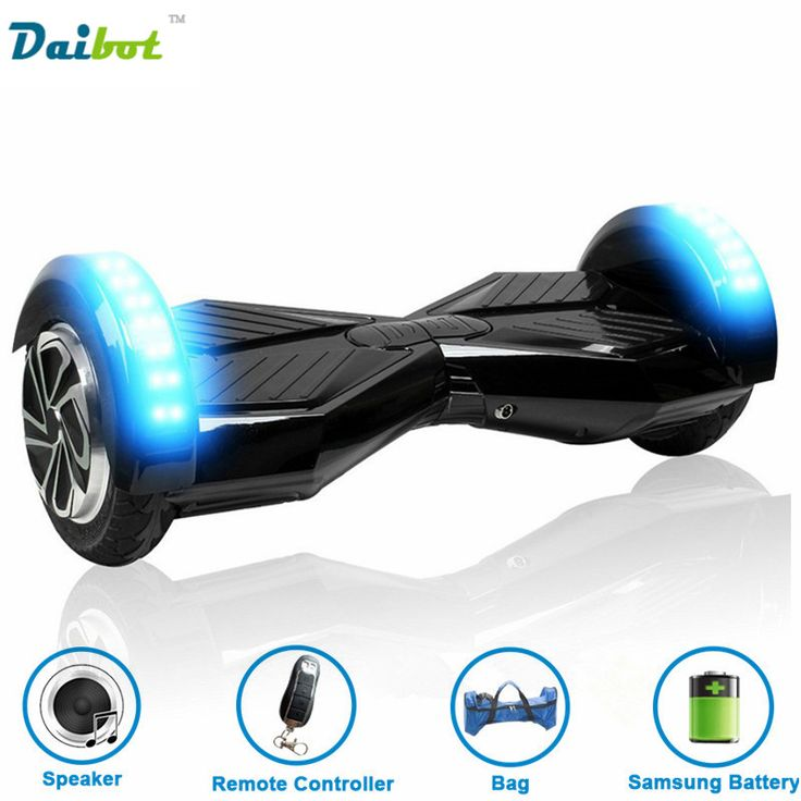 8 inch Hoverboard Smart balance Wheel Two Wheel Self Balancing Scooters Hover Boards Electric Skateboard with Bluetooth Speaker //Price: $235.99//     #electonics