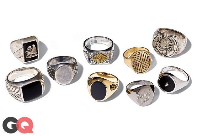 Signet Rings Are Back (We Pinkie-Swear) Photos | GQ