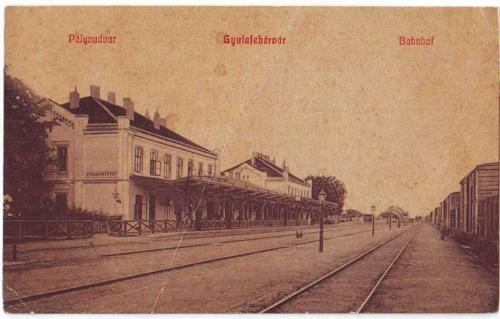 Alba Iulia - Gara - 1911