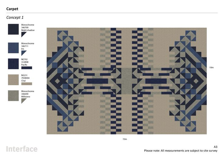Pattern By Tile - Interface carpet tile - area rug