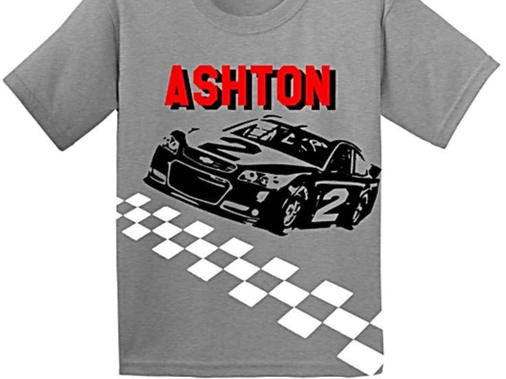 Nascar Shirt, Nascar Birthday, Race Car, Race Car Birthday, Race Car Birthday Shirt, Racing Shirt, Boys Birthday Shirt by CRAAUS on Etsy https://www.etsy.com/listing/226628564/nascar-shirt-nascar-birthday-race-car