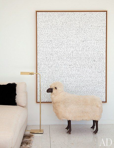 smile: Wall Art, Frames Architecture Digest, Interiors Inspiration, Home Interiors, Bees Inspiration, Digest Inspiration, Interiors Design, Lalann Sheep, Houses Design