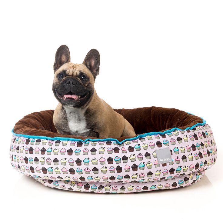 FuzzYard Cupcakes Reversible Pet Bed