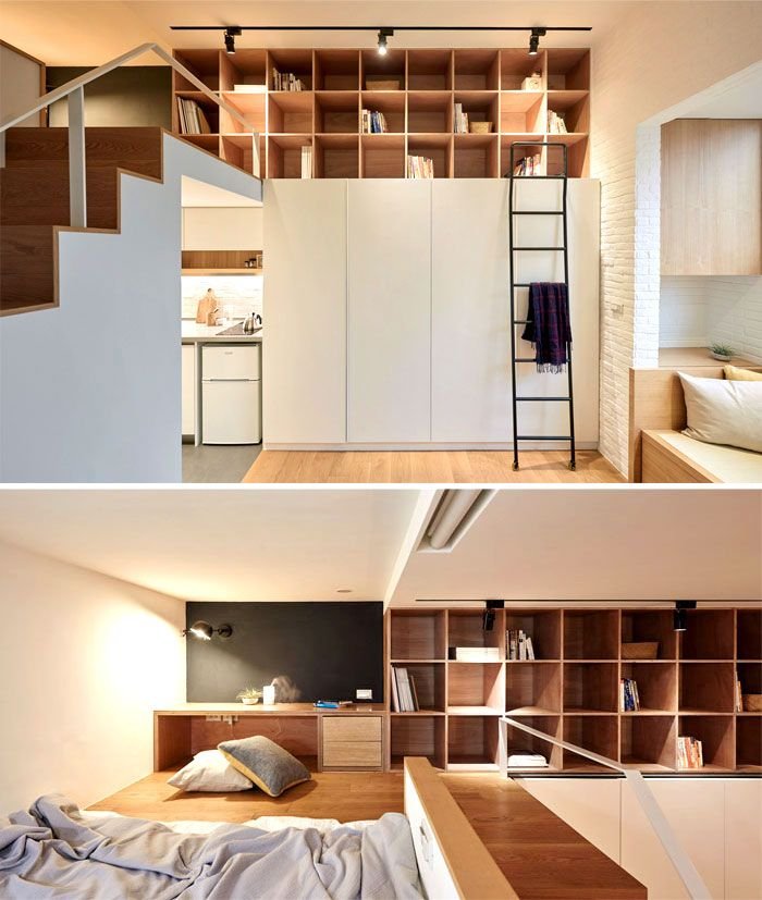 Home Interior Design Ideas For Small Spaces Modern: 50 Small Studio Apartment Design Ideas (2019)
