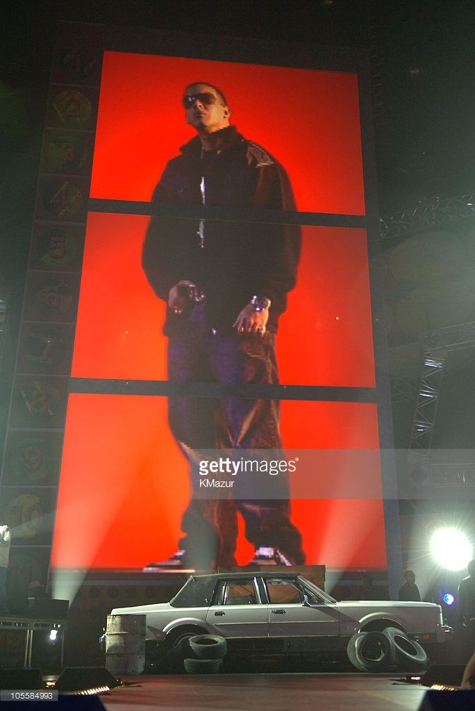 Daddy Yankee during 2005 Billboard Music Awards - Rehearsals - Day One at MGM Grand Garden Arena in Las Vegas, Nevada, United States.