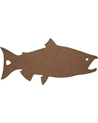 Epicurean Cutting Surfaces Novelty Series Cutting Board, Salmon