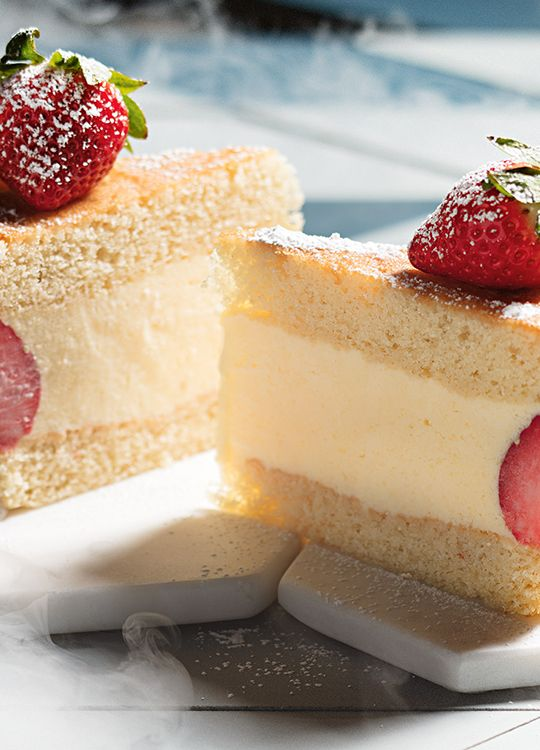 How to make Strawberry & Lime Cake