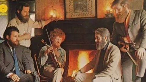 The Dubliners at Wrens Nest Strawberry beds, nr Chapelizard