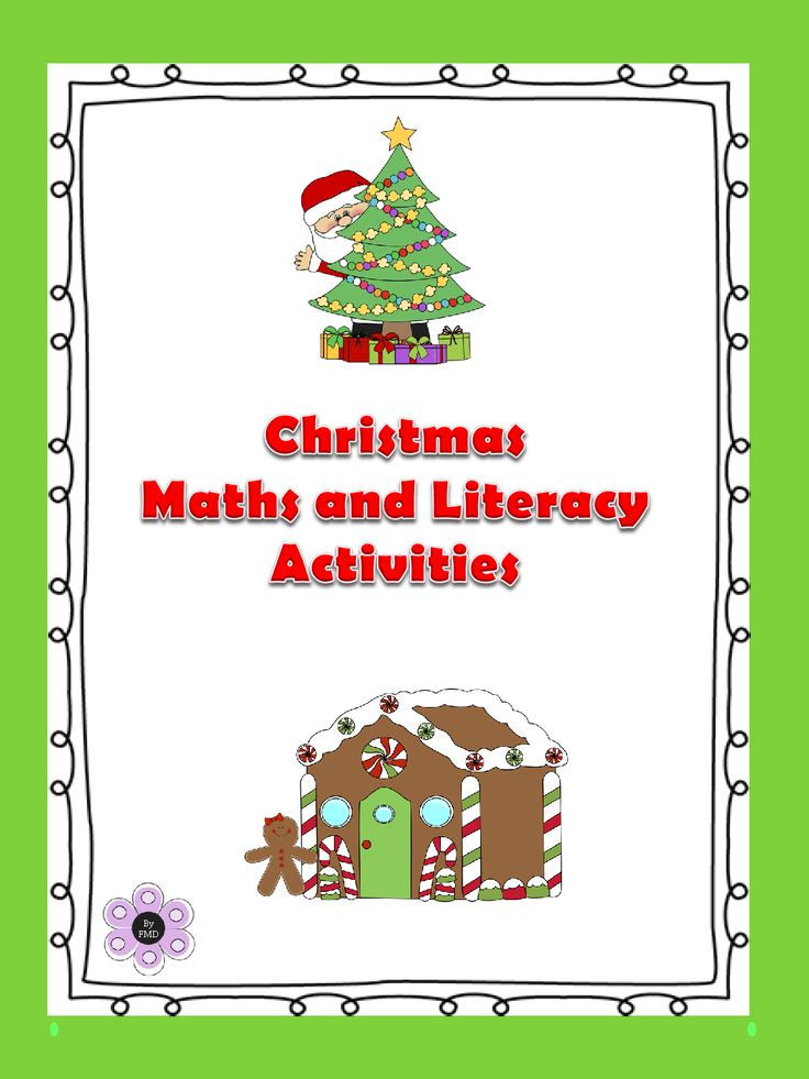 Designed by Teachers » Christmas – Maths and Literacy Activities
