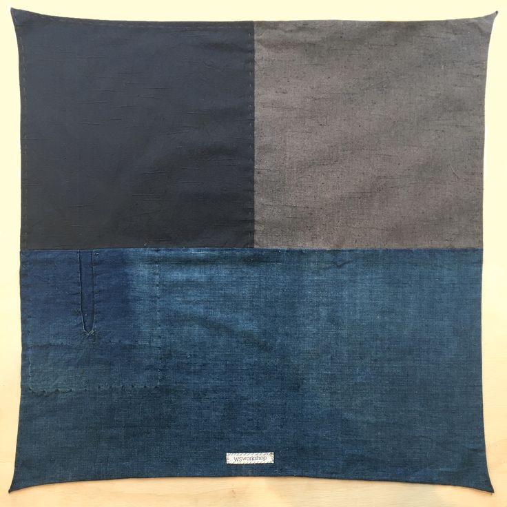 Each bandana is handmade into patchwork designs using Japanese Linen and Vintage Indigo Denim. In a ...