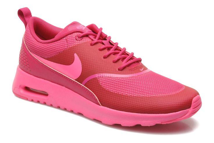 Nike Wmns Nike Air Max Thea (Noir) - Baskets chez Sarenza (215885)