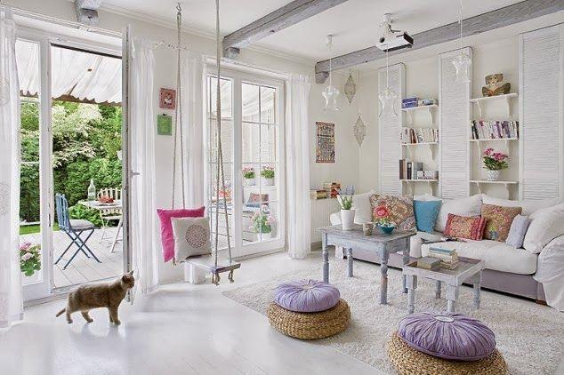 Jurnal de design interior - Amenajări interioare : Accente vesele de culoare în Cracovia
