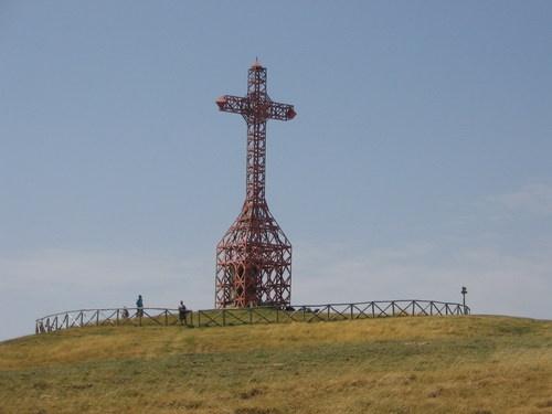 La croce del Pratomagno.