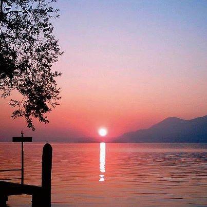 Lago di Garda  #Sunset #LagodiGarda #LakeGarda #Gardasee