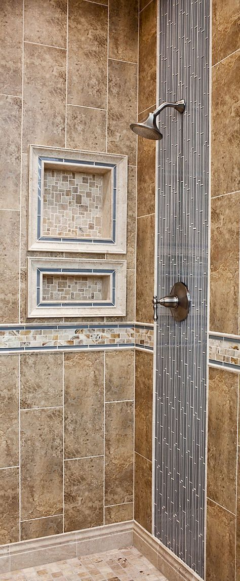 80 stunning tile shower designs ideas for bathroom remodel (48)