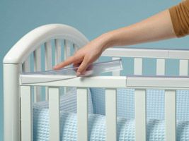Crib railing becomes teether - Real-World Babyproofing - Pregnancy Magazine