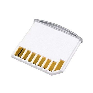 micro sd tf naar sd-kaart kit mini-adapter voor extra opslag MacBook Air / Pro / retina wit 2015 – €2.65