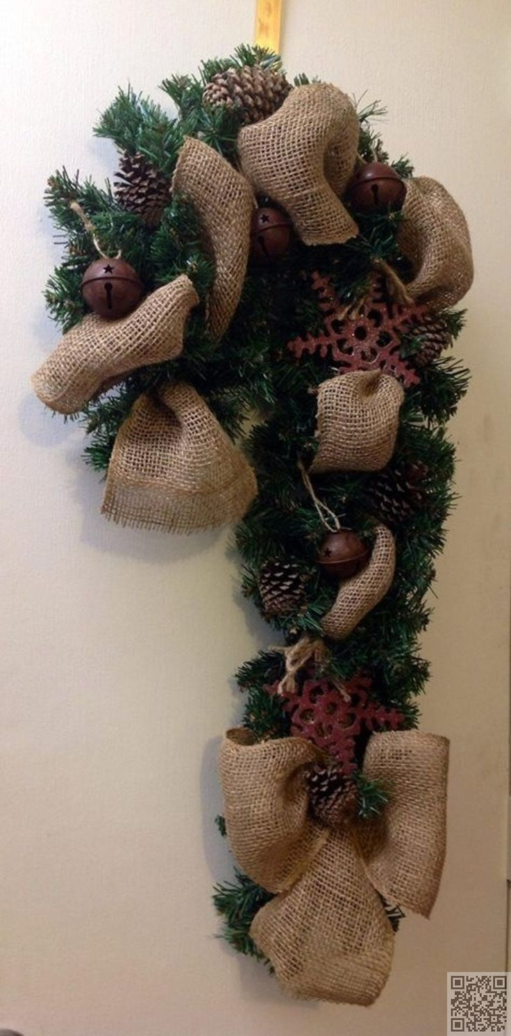 Primitive Country Christmas Front Doors And Diy Wreath On