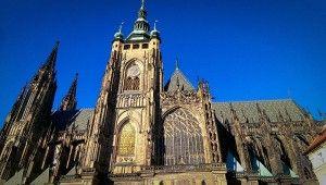 L'impressionnante #cathédrale Saint-Guy de #Prague. #RépubliqueTchèque