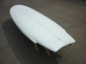 Unusual surfboard shape