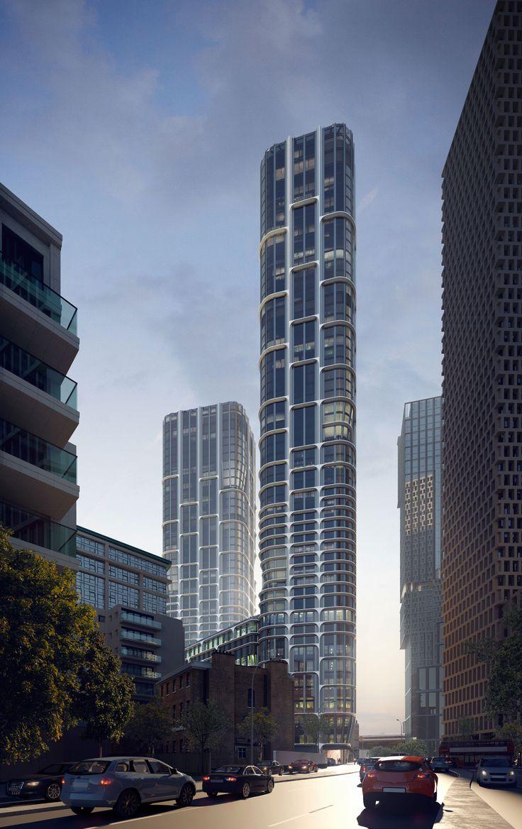 Rendering. Image © Slashcube / Zaha Hadid Architects