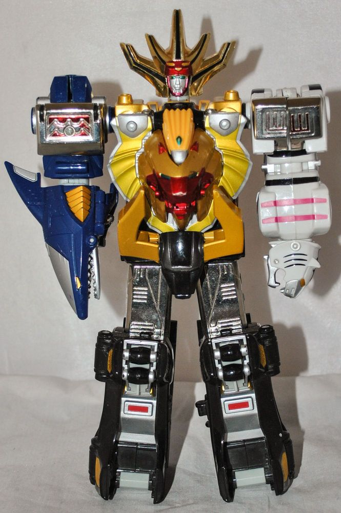 Bandai Power Rangers Wild Force Deluxe Wild Force Megazord #10211, Rare!!!