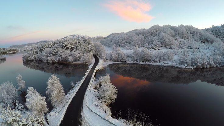 Winter Road over Dark Waters