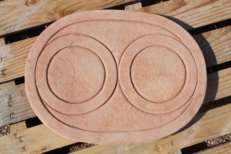 """Fontana ovale"" #terracotta_fontana #terracotta_fountain #ovale #fontana_terracotta #made_in_italy"