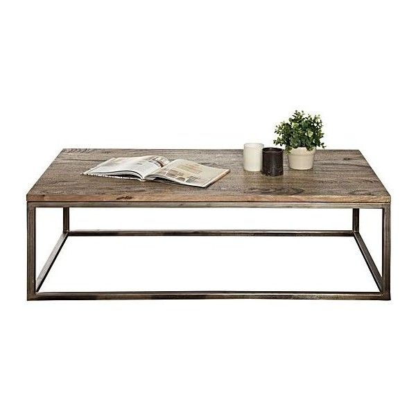 Bradley Rectangle Coffee Table ($340) ❤ Liked On Polyvore Featuring Home,  Furniture,