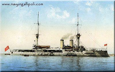NOinD 1915 - Ottoman Battleships