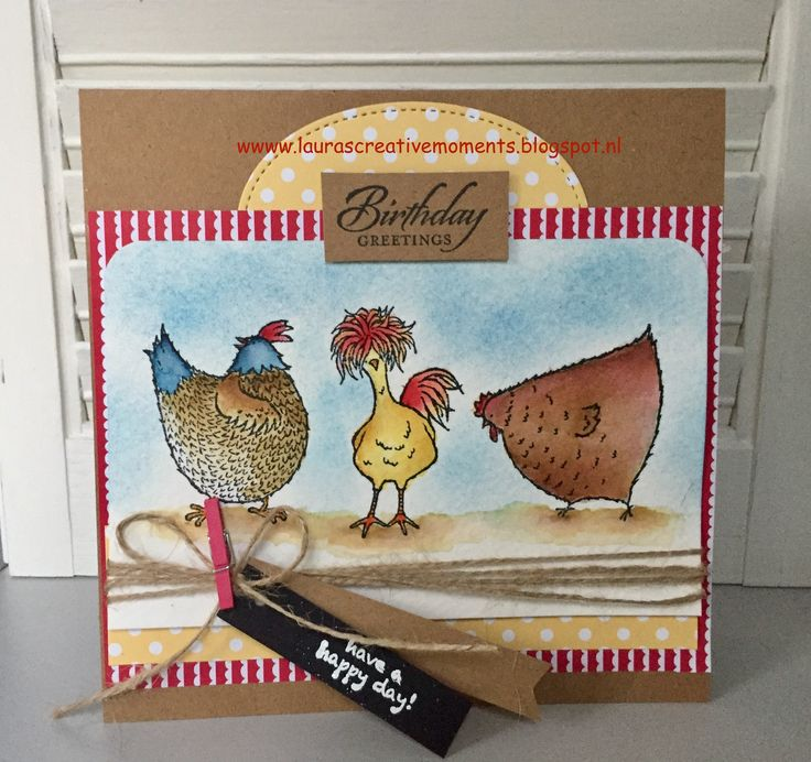 Hey, Chick - Stampin' Up! SALE-A-BRATION 2017 - a birthday card