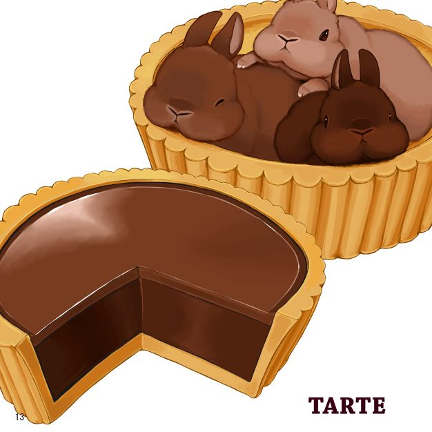 BROWN....Chocolate or rabbit!!!