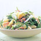Een heerlijk recept: Zalmsalade met venkel en fettuccine