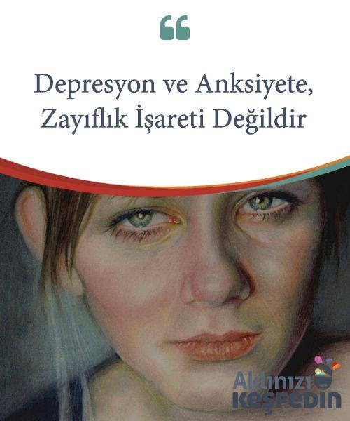 Depresyon ve Anksiyete, Zayıflık İşareti Değildir.  Depresyon ve #anksiyete, zayıflık işareti değildir. Kişisel bir #seçimin sonucu da değildir. Bu zihinsel #hastalıkların bize eşlik edip #etmemesine kendimiz karar #veremeyiz.