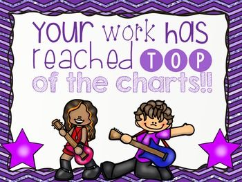 Rock Star Behavior Clip Cha... by Lovin' Little Learners | Teachers Pay Teachers