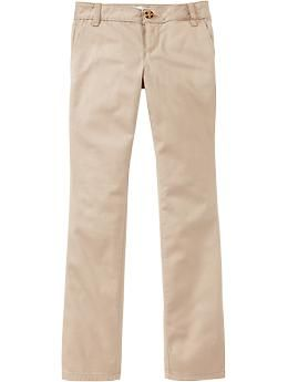 If Uniforms is required: $15 Girls Uniform Skinny Pants | Old Navy